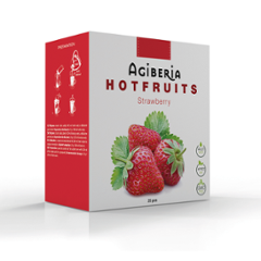 Agiberia Hotfruits Strawberry 25x20g